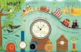 Usborne Lift the Flap Book Questions and Answers About Time