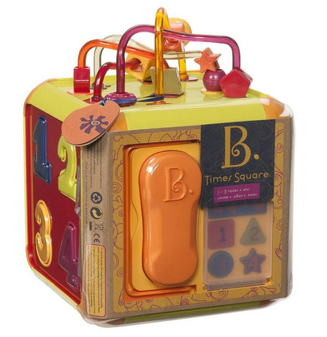 Battat Times Square 6-Sided Activity Cube