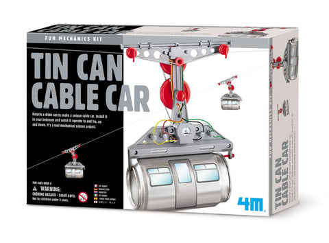4M Mechanics Kit - Tin Can Cable Car