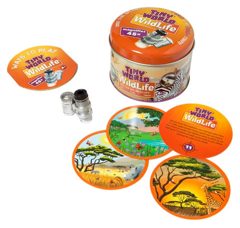 Tiny World Wildlife Micro-Environments Exploration Kit