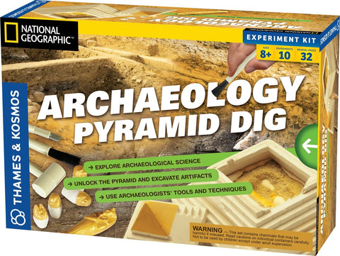Thames & Kosmos Archaeology Pyramid Dig Kit