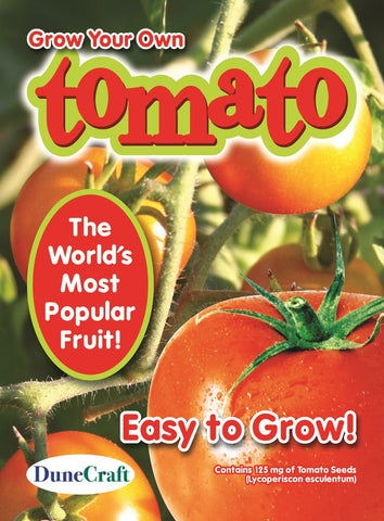 Grow Your Own Tomato Seed Pack-World's Most Popular Fruit