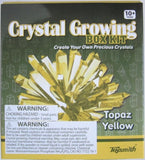 Topaz Yellow Crystal Growing Box  Kit 6 Colors Available