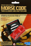 Morse Code - Torch (Light) & Morse Code Shutter Card