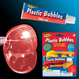 Plastic Bubbles Classic Toy New Bright Colors Make with Straw