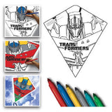 X Kites Transformers Color-Me-Kite 26 Inches Tall