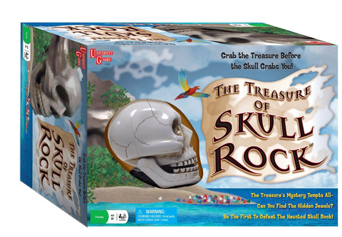 The Treasure of Skull Rock Adventure Board Game by University Games