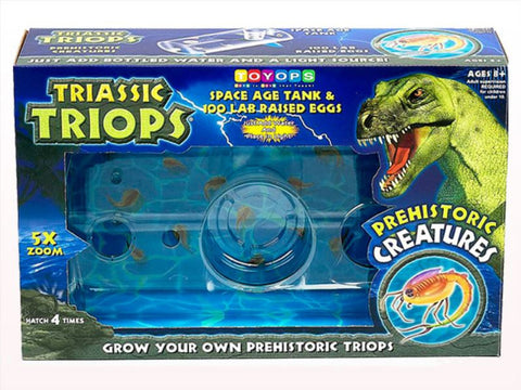 Triassic Triops Space Age Tank Kit - Grow Amazing Living Ancient Creatures