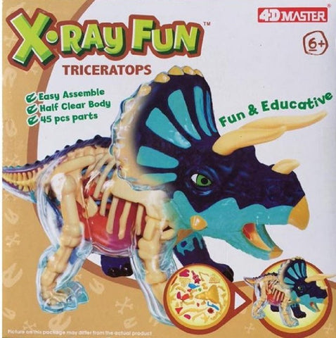 Triceratops X-Ray Fun Dinosaur Anatomy Kit by 4D Master