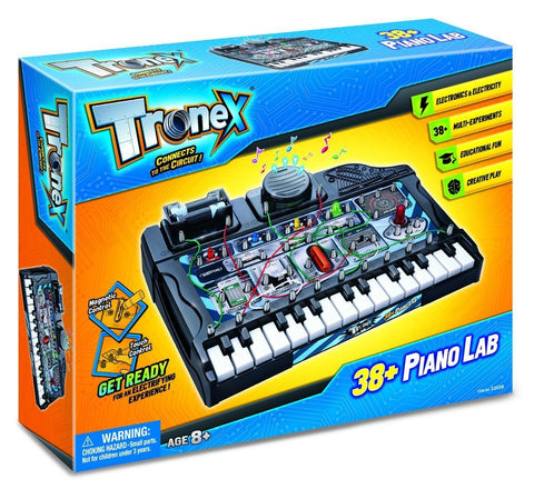 Tronex 38+ Piano Circuits & Electronics Lab by TedCo