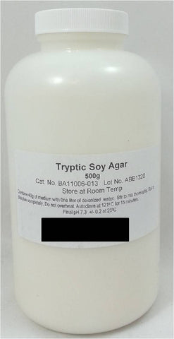 500g of Dehydrated Tryptic Soy Agar Powder