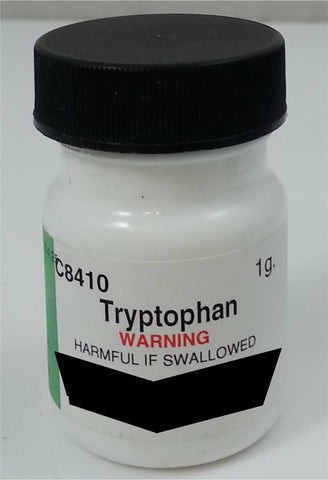 Tryptophan (L) Laboratory Chemical Reagent 1 gram