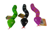 Slithery, Squishy Finger Snake Puppets - Pack of 3