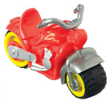 Zoomsters Motorcycle  Friction Wind-up Toy 4 inches