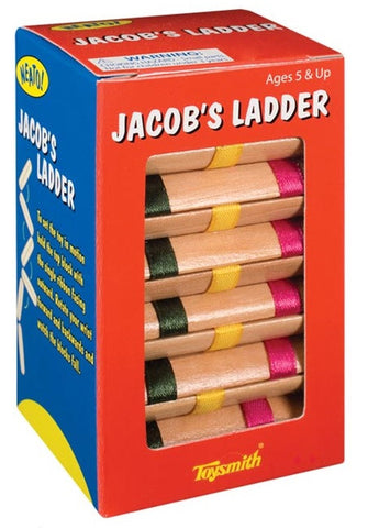 Jacobs Ladder Optical Illusion Toy