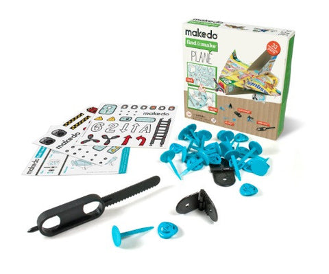 Find & Make Plane Kit From Makedo - Teach Kids Recycling