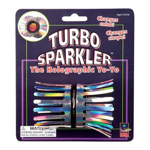 Turbo Sparkler Holographic Yo-Yo Toy