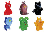 Looking Glass Torch - 6 Different UglyDoll Miniatures -  (6-Pack)