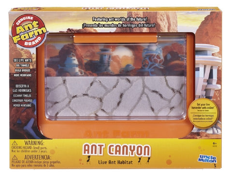 60th Ant-iversary Uncle Milton Ant Canyon Live Ant Farm
