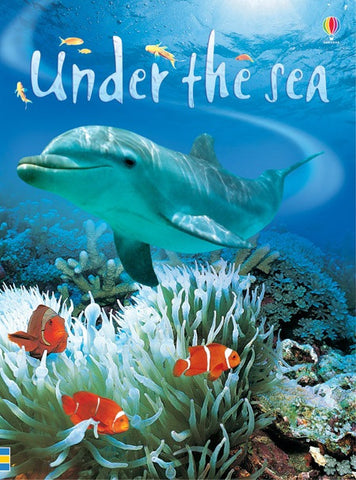 UNDER THE SEA - Usborne Beginners Reader Book Ages 6+