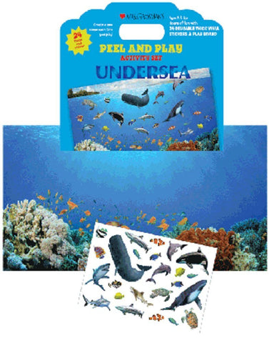 Mrs Grossman's Stickers - Undersea Peel & Play Activity Set