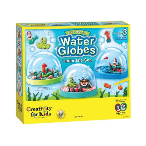 Creativity for Kids - Make Your Own Water Globes Under the Sea Kit