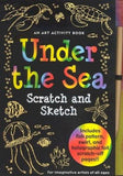 Scratch and Sketch Under the Sea Art Activity Book