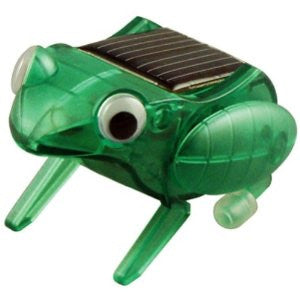 Robotikits Happy Hopping Frog Solar Energy Kit - Build Solar Powered Frog