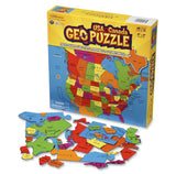 USA and Canada Geography Puzzle - 69 State Shaped Pieces