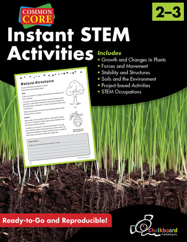 Instant STEM Activities - Grades 2 & 3 - Common Core Standards