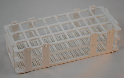 24 Place Wet/Dry Test Tube Rack w/ 25mm holes
