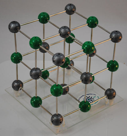 Sodium Chloride Pre-assembled Molecular Model Set