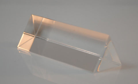 Equilateral  Acrylic Prism 75x25mm
