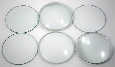 Optics Lens Demonstration Glass - Set of 6: 75mm