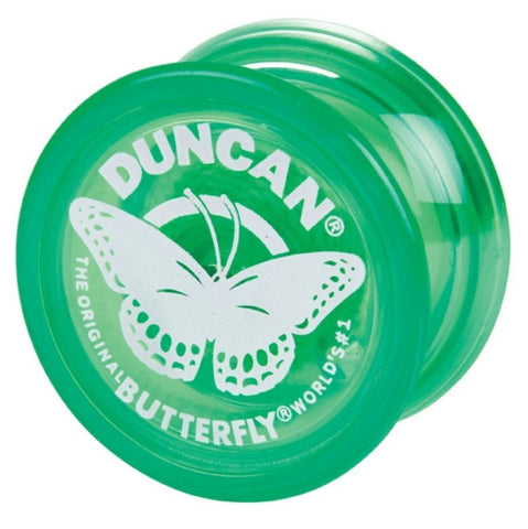 Genuine Duncan Butterfly Yo-Yo Classic Toy - Green