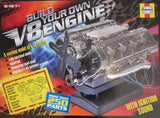 Build Your Own Working V8 Engine Model, Endorsed by the Haynes Manual
