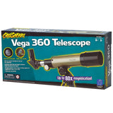 Geo Safari Vega 360 Telescope; 80 x 50 mm