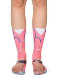 Vet and Pug Crew Socks OSFM by Living Royal