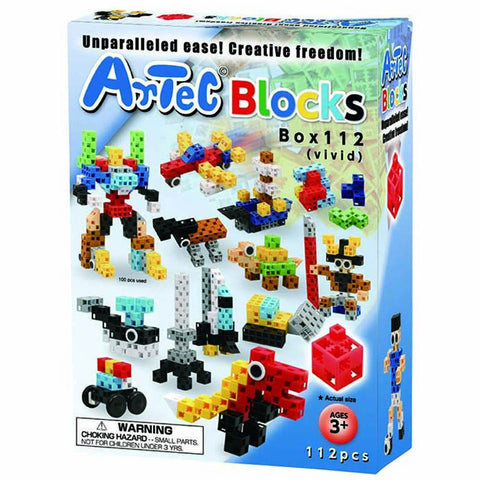 Vivid Box 112 Piece Artec Blocks
