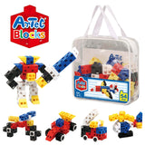 54 Piece Vivid Pouch Artec Blocks