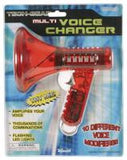 Multi Voice Changer - Modifies 8 Ways - Amplifies Microphone - Colors Vary