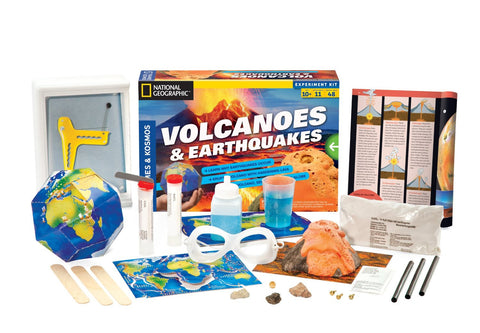 Thames & Kosmos Earthquakes & Volcanoes - Projects, Games and Quizzes
