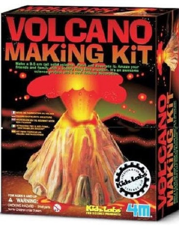 Volcano Making Kit Cool Earth Science Project by 4M