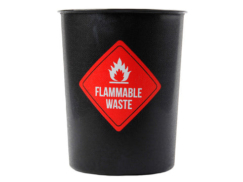 Flammable Waste Decorative Plastic Trash Waste Basket