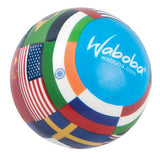 Waboba World Ball - 3.5 Inches Diameter - Features 24 Flags