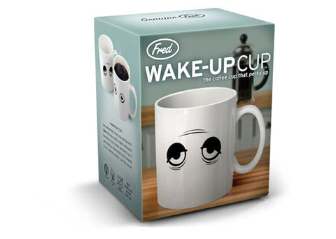 WAKE UP! Heat Sensitive Mug from Fred and Friends