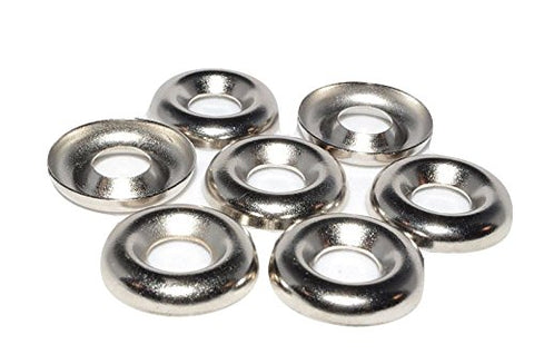 8mm Stainless Steel Ring Style Display Stands for Marbles - 25 Pack