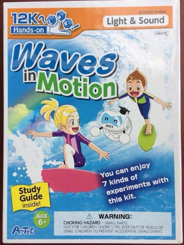 Waves in Motion Kit with Study Guide By Artec