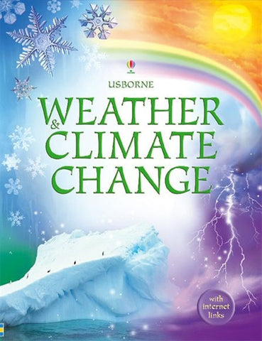 Internet Linked Usborne book WEATHER and CLIMATE CHANGE