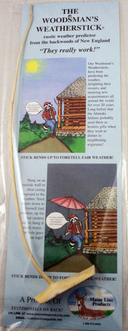 Weather Forecasting Woodsman's Weatherstick